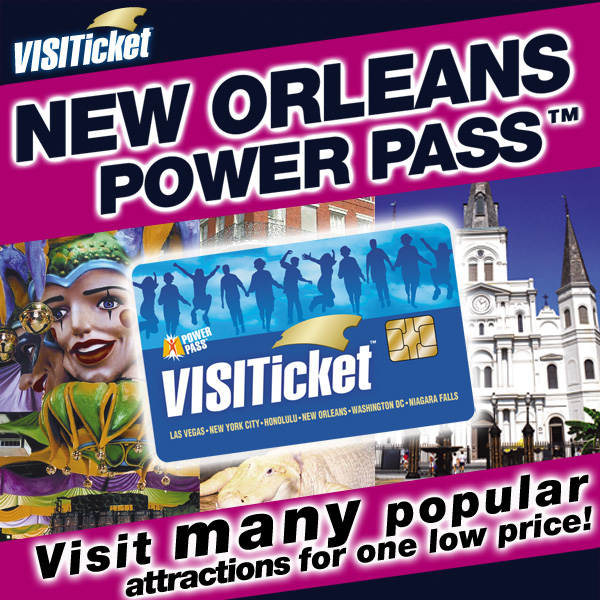 fort lauderdale attractions:New Orleans Power Pass