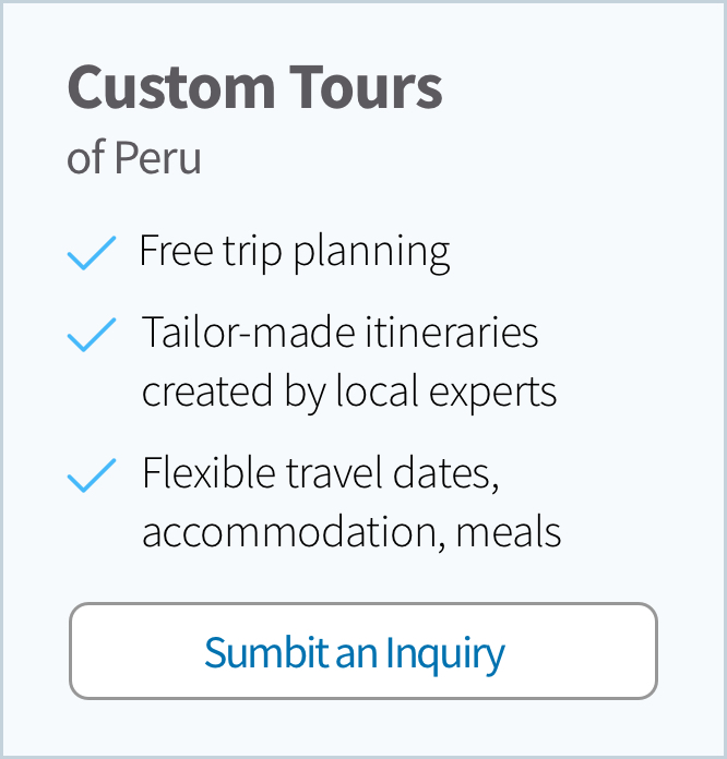 Custom Tour of Peru