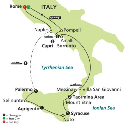 Photo 1: Rome, Sorrento & Capri With Sicily