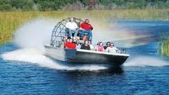 architectural boat tour:Biscayne Bay Boat & Everglades Airboat Adventure Tour