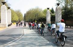 europe tour package from london:4-Hour Royal London Bike Tour