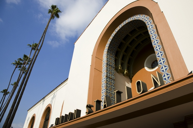Los Angeles Union Station Celebrates it's 75th Anniversary