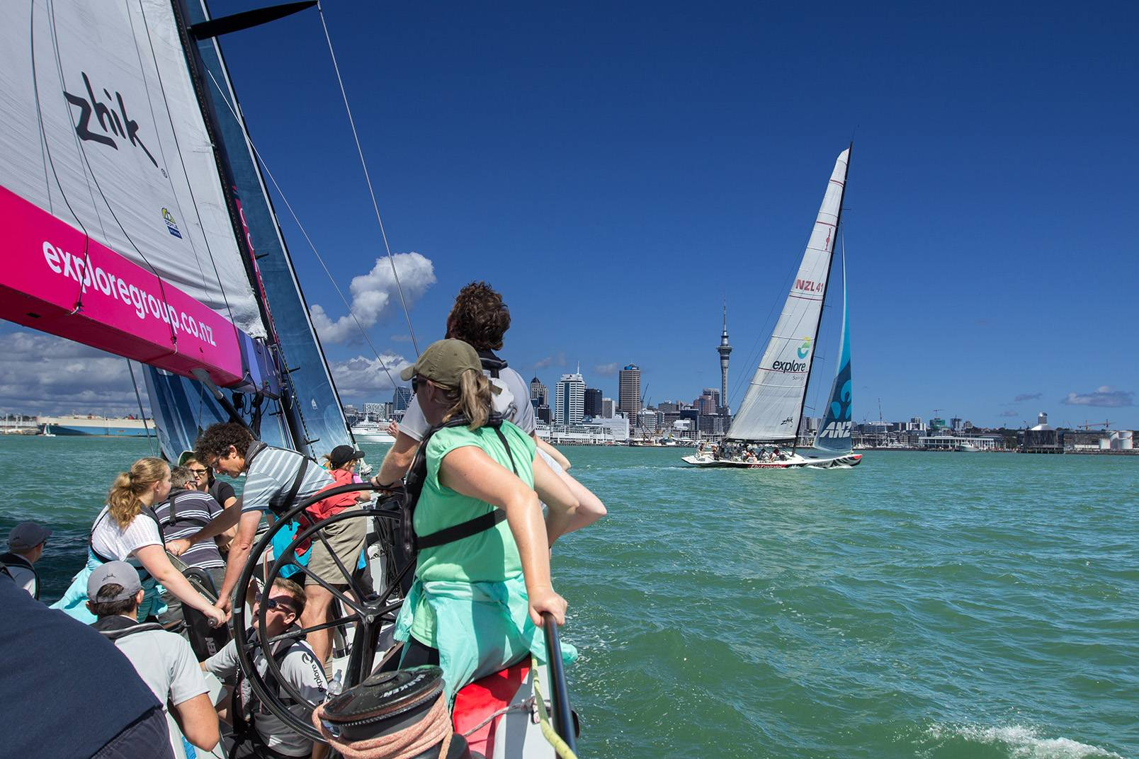2-Hour America's Cup Sailing Tour - Auckland