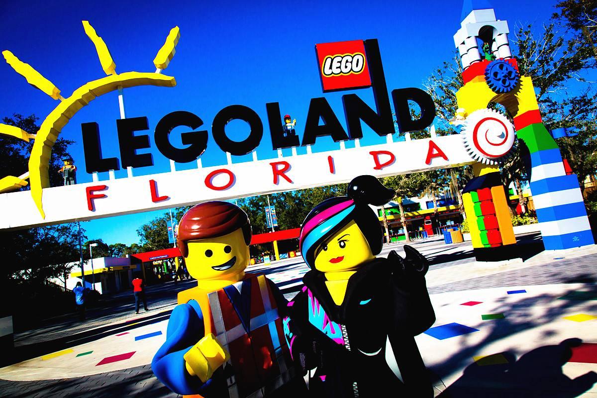 1-Day Florida Legoland (Admission Ticket)