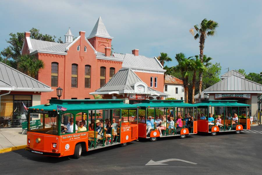 Old Town Trolley Tour of St. Augustine