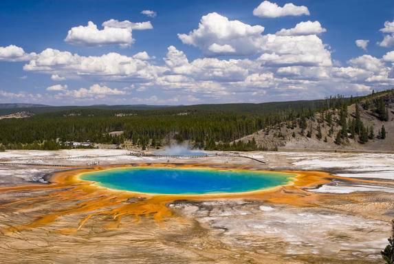 7 Días en el Parque Nacional Yellowstone y Monte Rushmore en autobús