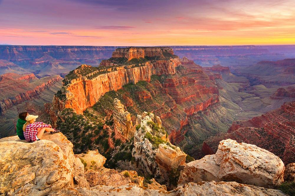2-Day National Parks Nature's Beauty Tour: Grand Canyon South Rim, Antelope Canyon and Lake Powell