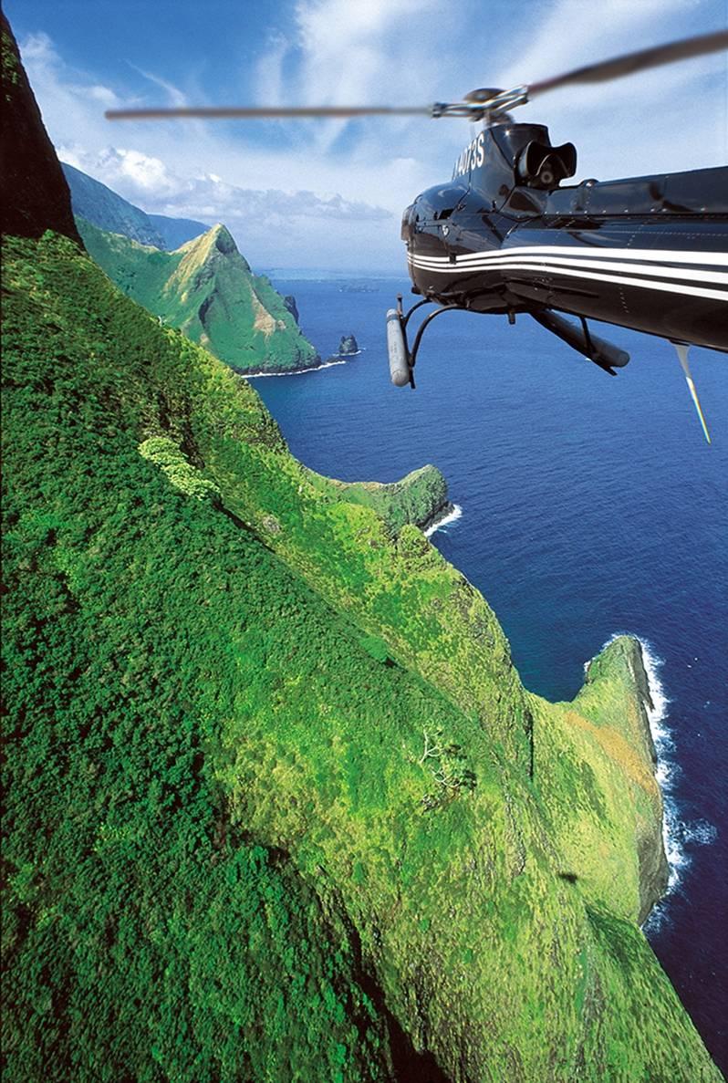 Molokai Helicopter Deluxe Tour