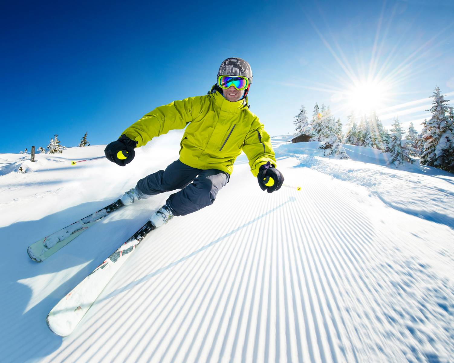 2-Day Skiing & Waterpark Tour from New York