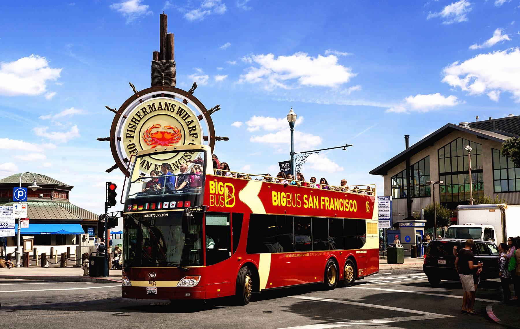San Francisco Bus Tour Tours4fun