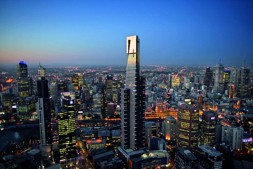 Melbourne City Tour with Eureka Skydeck
