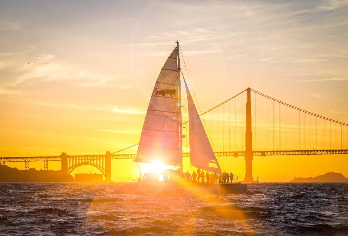 1- Day San Francisco Sunset Cruise Tour: Alcatraz, Sausalito, Golden Gate Bridge