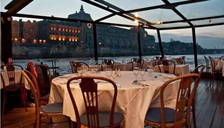 La Marina de Paris Dinner Cruise | Decouverte Menu
