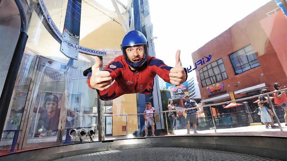 Indoor Skydiving in Los Angeles - Tours4Fun