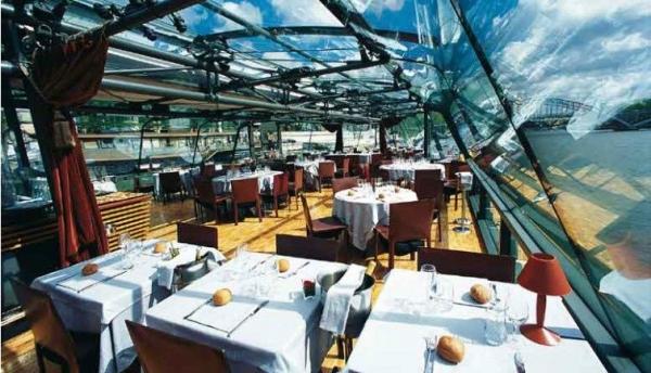 La Marina de Paris Boat Tour w/ Lunch | Orsay Menu