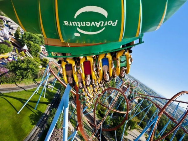 PortAventura Theme Park Day Trip from Barcelona