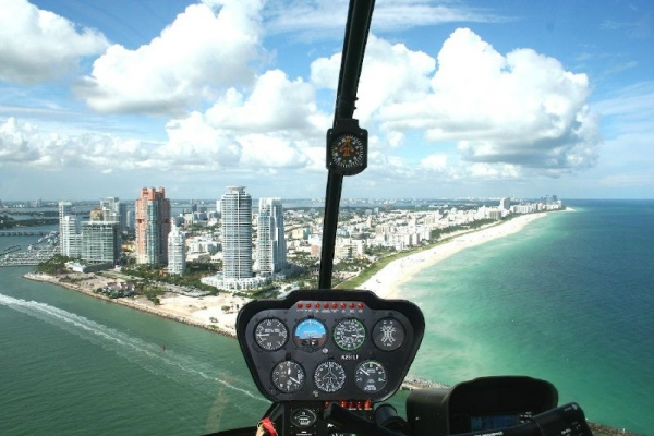 45-Min Deluxe Miami Helicopter Tour W/ Private Chauffeur