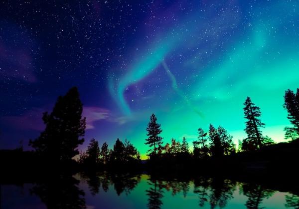 Hunting for Aurora Borealis