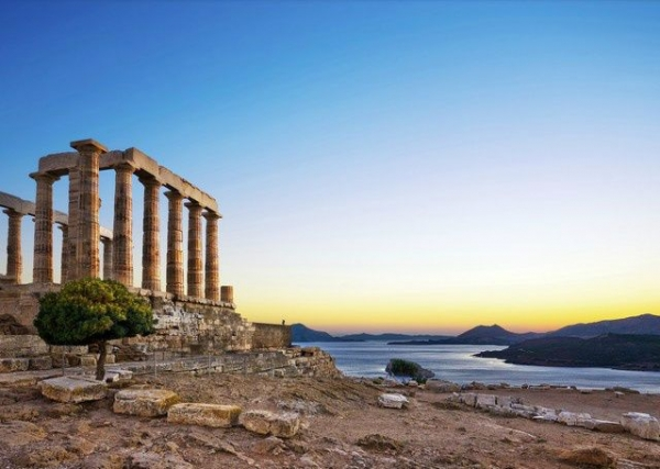 Cape Sounion and Temple of Poseidon Half Day Trip from Athens
