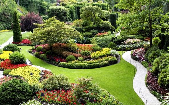 1-Day Victoria Tour / With BC Ferries & Butchart Gardens Admission