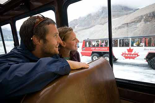Columbia Icefield Discovery Tour From Calgary W/ Glacier Adventure & Glacier Skywalk