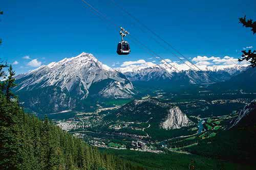 Explore Banff Day Tour From Canmore & Lake Minnewanka Cruise With Banff Gondola
