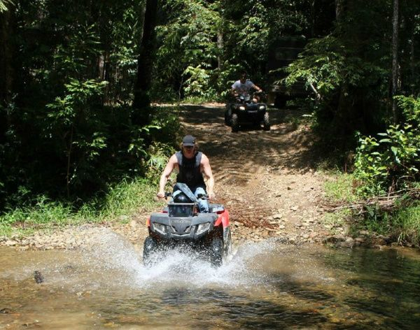 Daintree Rainforest Afternoon ATV Tour
