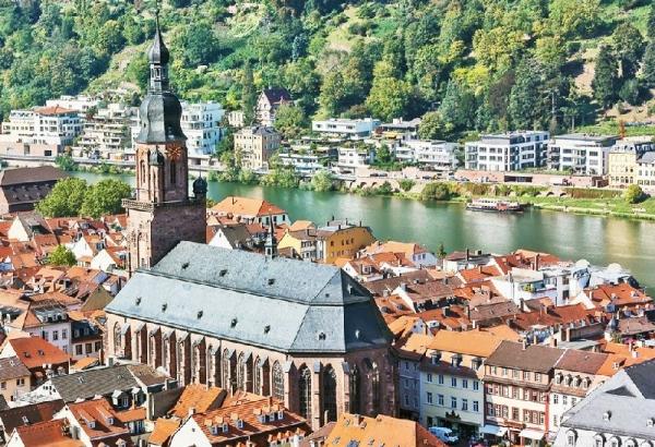 Heidelberg Half Day Trip from Frankfurt incl. Heidelberg Castle