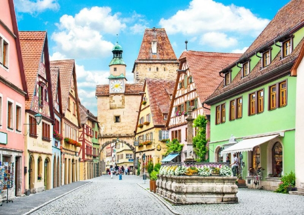 Heidelberg and Rothenburg Day Tour from Frankfurt