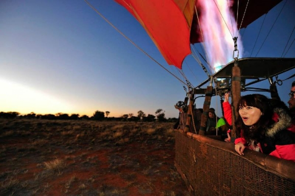 30/60-Min Alice Springs Balloon Flights Or Balloon Chase