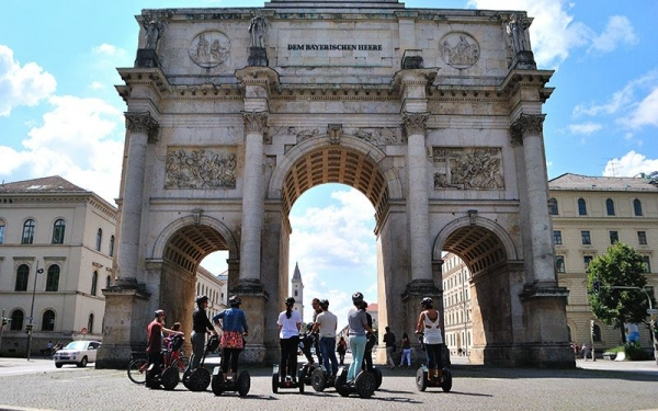 3.5-Hour Munich Segway Tour