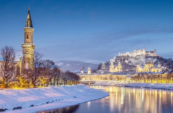 4-Day Salzburg City Break with Innsbruck and Swarovski Crystal Worlds