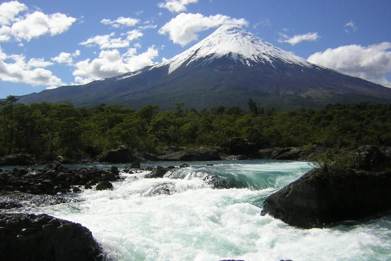 Petrohue Waterfalls & Osorno Volcano Eco Tour