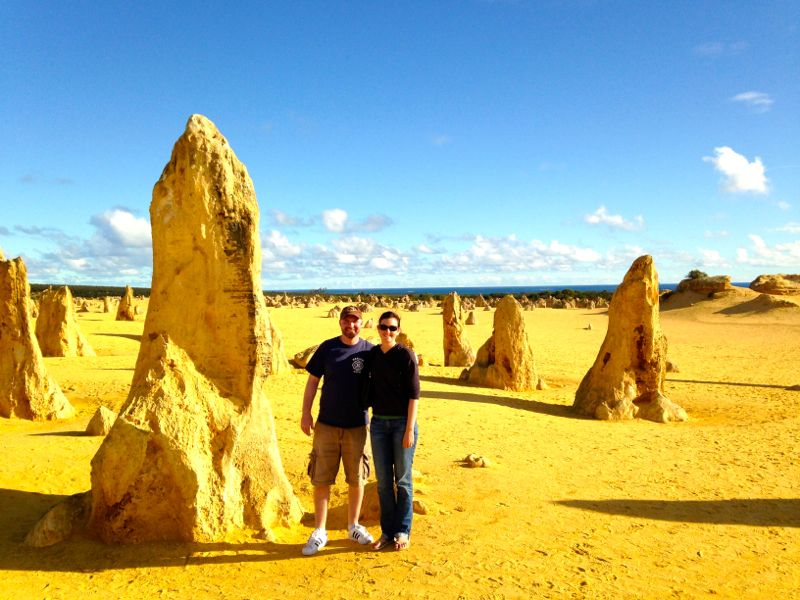 Perth Wildlife Park, Swan Valley, and Pinnacles Tour