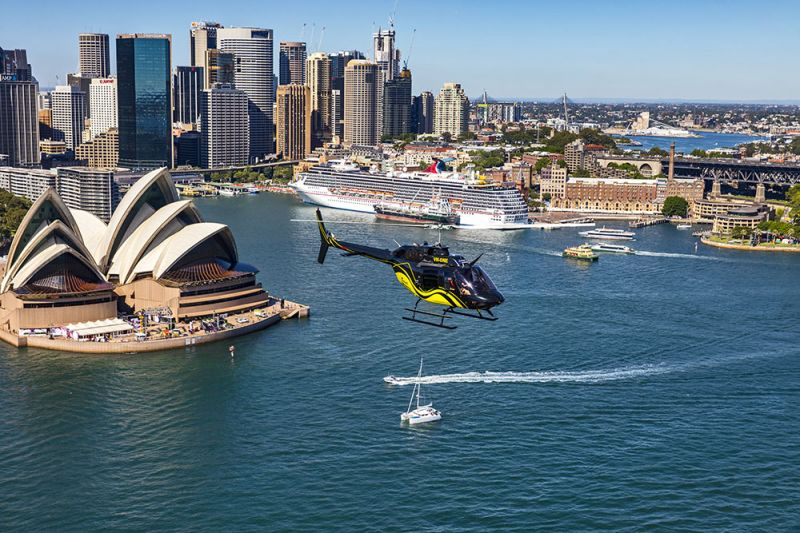 20 Min Private Sydney Harbour and Coastal Helicopter Flight For 2