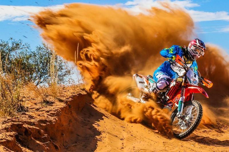 KTM Desert Dirt Bike Tour From Dubai