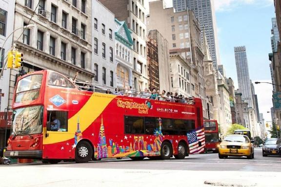 Todo Alrededor de Nueva York Tour de Autobus (Multilingüe)