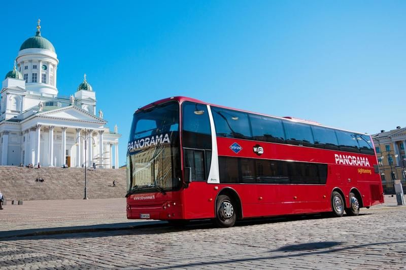 Panoramic Helsinki Sightseeing Tour