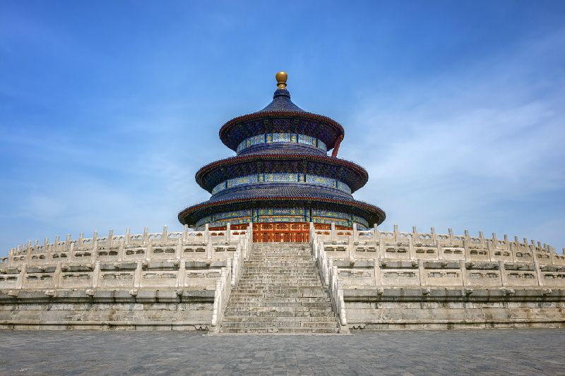 Beijing Private Half Day Tour: Temple of Heaven and Hong Qiao Market
