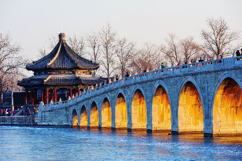 Beijing Private Half Day Tour: Summer Palace and Boat Riding on Kunming Lake