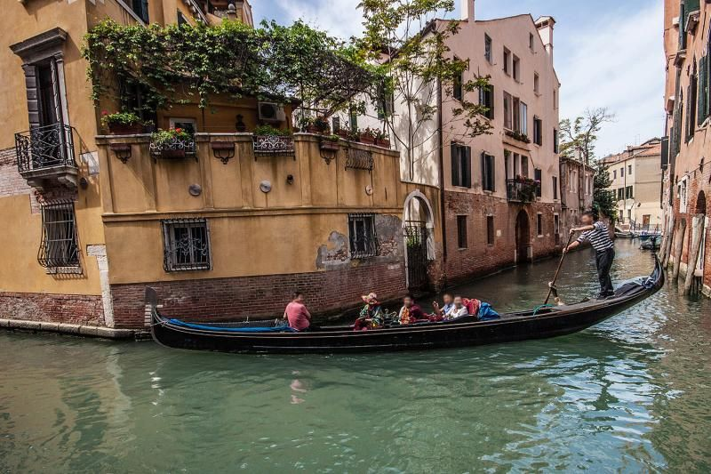 Venice Walking Tour + Venice Gondola Ride