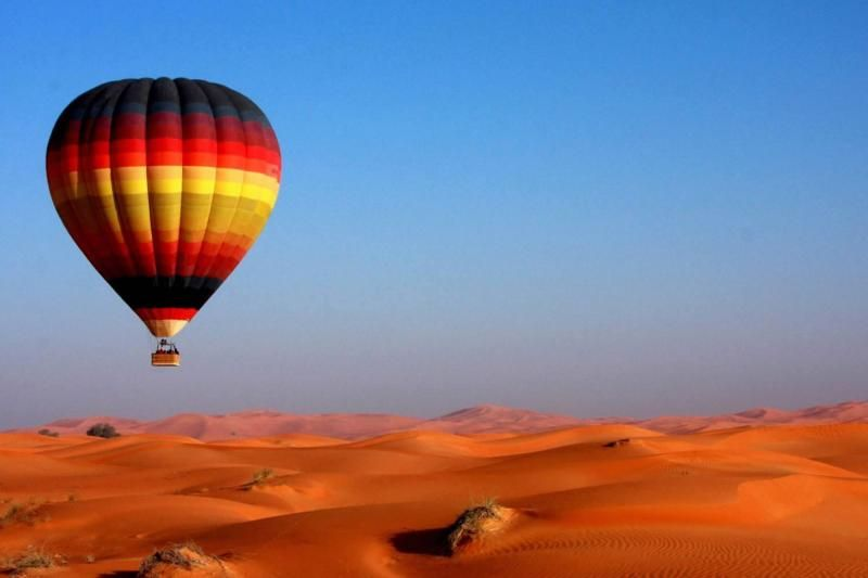 Dubai Hot Air Balloon Ride