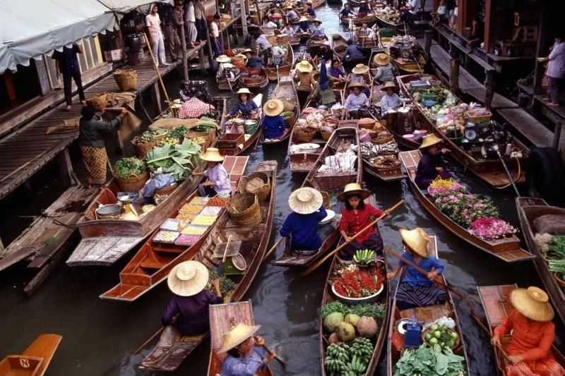 Damnoen Saduak Floating Market Day Trip From Bangkokg W/ River Kwai & Thai-Japanese Memorial Bridge