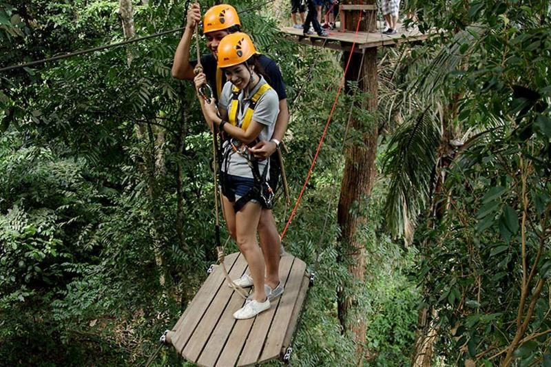 Ziplining Adventure Half Day with Join Transfers