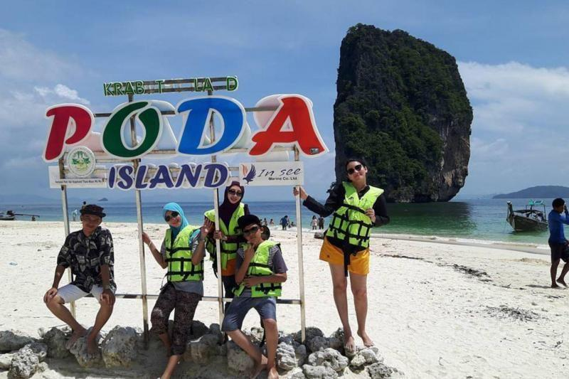 Krabi 7 Islands Tour with Dinner & Bioluminescent Plankton By Long Tail Boat