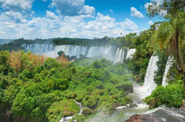 Iguazu Falls Tour from Brazilian Hotels - Argentinian Side