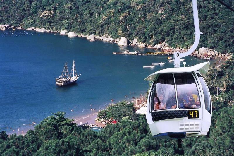 Unipraias Park Tour W/ Cable Car