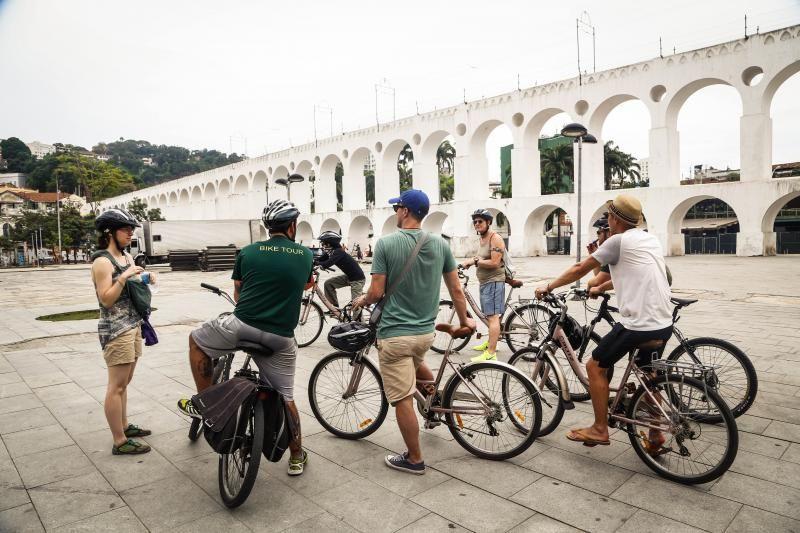 Historical & Bohemian Rio Bike Tour