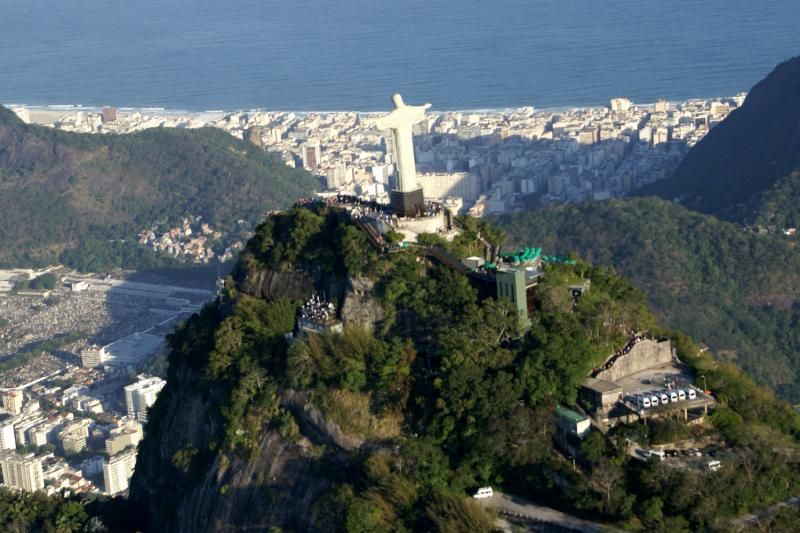 Panoramic Rio City Tour W/ Plataform Show & Dinner