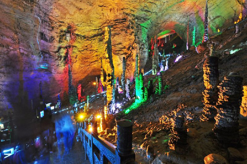 Private Zhangjiajie Grand Canyon and Yellow Dragon Cave Tour